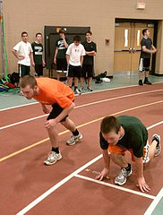 Boys Indoor Track: Confident and Eager to Win