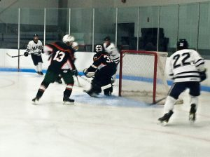 Hiller Hockey Loses to Medway but Holds Own Against a League Favorite