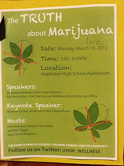"""The Truth About Marijuana"" presentation to be held on March 19th"