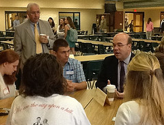 Political Guest Speakers at Local Government Breakfast Address HHS Students
