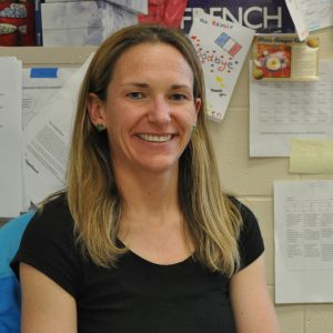 Ms. Wetterlow eagerly awaits her trip to Cuernavaca, Mexico. Photo by Hannah Ryan