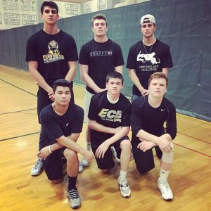 The seniors boys win back to back beFREE handball tournaments at Hopkinton High School. Photo by Cam Finlayson.