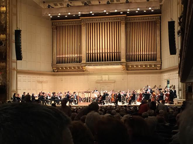 Band, Orchestra, Chorus attends Symphony Hall