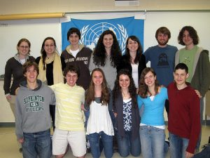 Photo: 2010-2011 Model United Nations Delegates