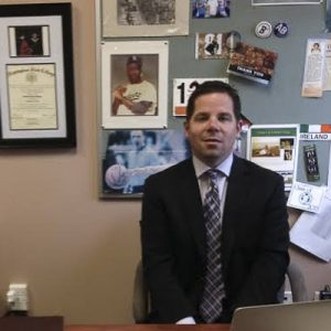 Joshua Hanna, 2 year Assistant Principle, is one of the people in charge of instituting the schools new tardy policy.